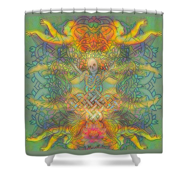 The Tree Of The Knowledge Of Good And Evil Shower Curtain