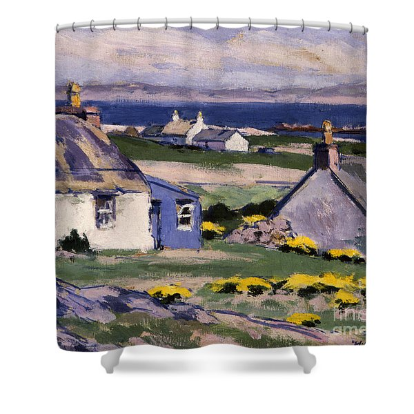The Two Crofts Shower Curtain