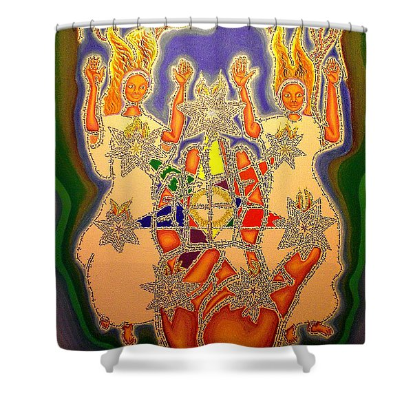 The Two Witnesses  Shower Curtain