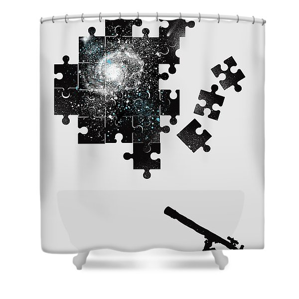 The Unsolved Mystery Shower Curtain