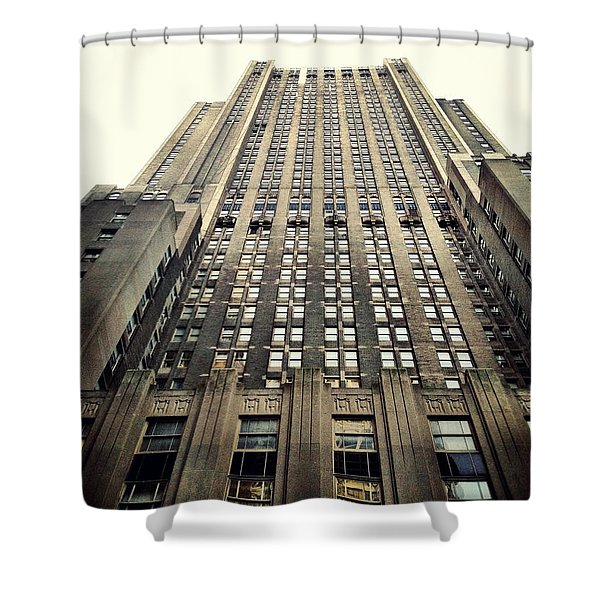 The Waldorf Shower Curtain