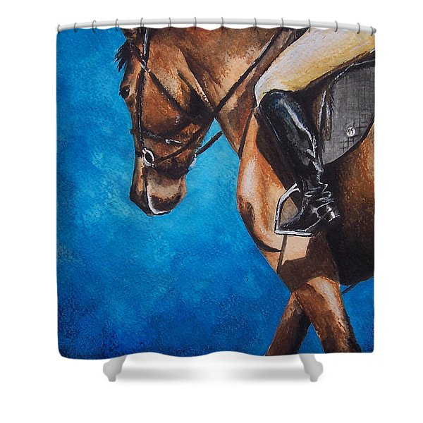 The Warm Up Shower Curtain