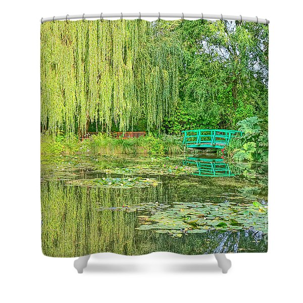The Water Garden Shower Curtain