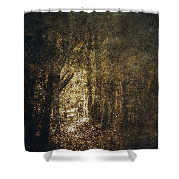 The Way Out Shower Curtain