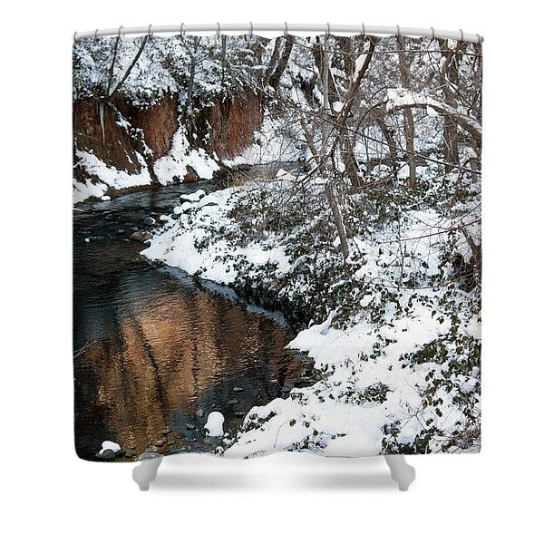 The West Fork Creek Shower Curtain