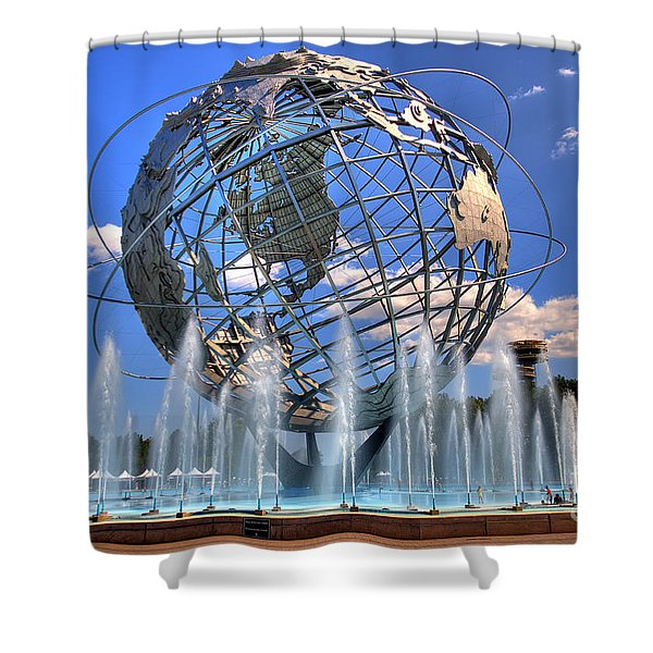 The Whole World In My Hands Shower Curtain