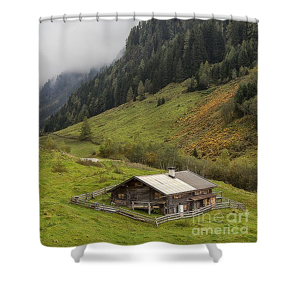 The Wimmertal In Tirol Shower Curtain