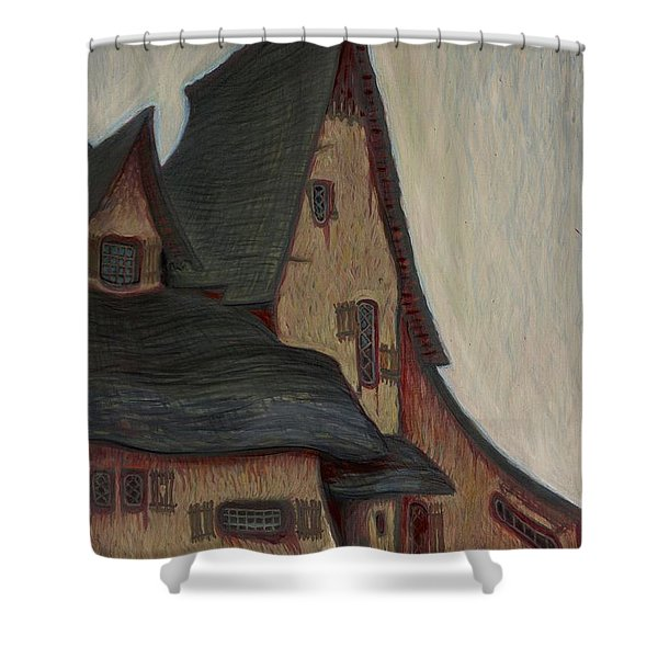 The  Witches House  Shower Curtain