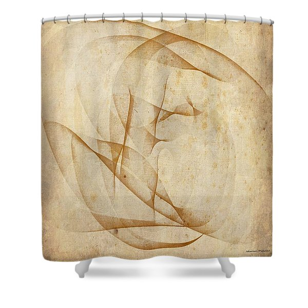 The Womb Shower Curtain