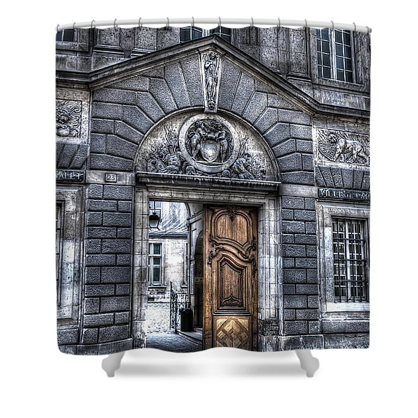 The Wooden Door Shower Curtain