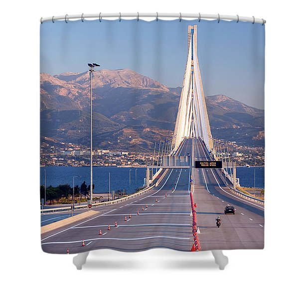 The Worlds Longest Cable-stayed Shower Curtain
