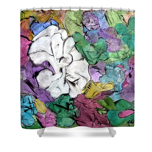 There's One In Every Crowd Shower Curtain