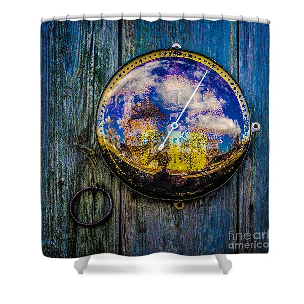 Thermometer Shower Curtain