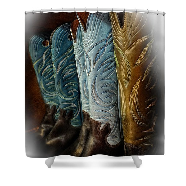 These Boots Are Made For Anything Shower Curtain