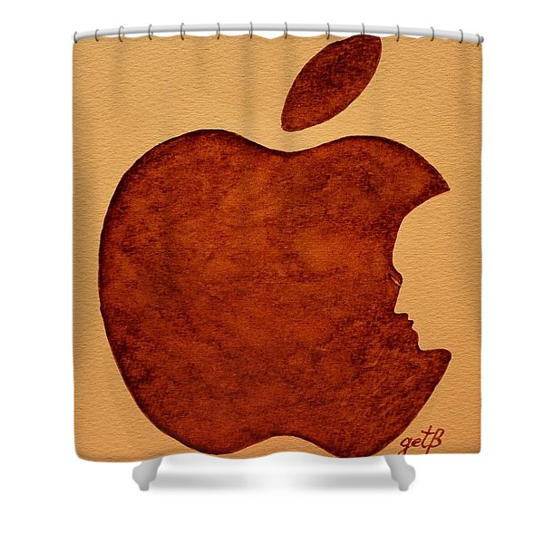 Think Different Steve Jobs 3 Shower Curtain