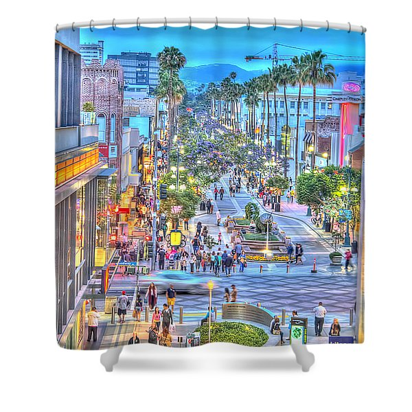 Third Street Promenade Shower Curtain