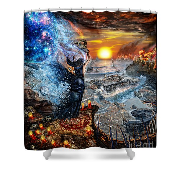 This Will All Come To An End Shower Curtain