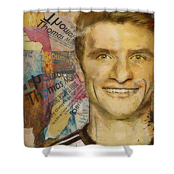 Thomas Muller Shower Curtain