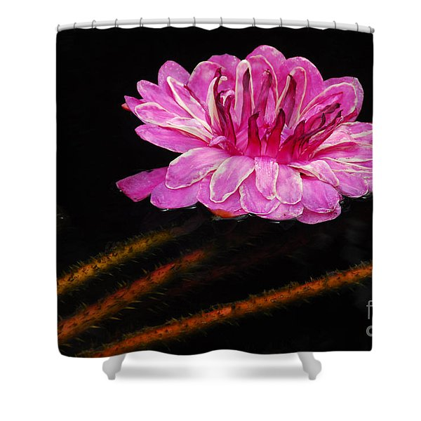 Thorny Beauty Shower Curtain