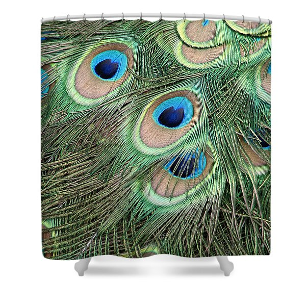 Those Danger Eyes Shower Curtain
