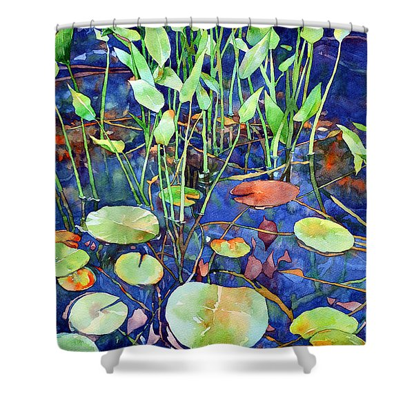 Thoughts Turn To Spring Shower Curtain