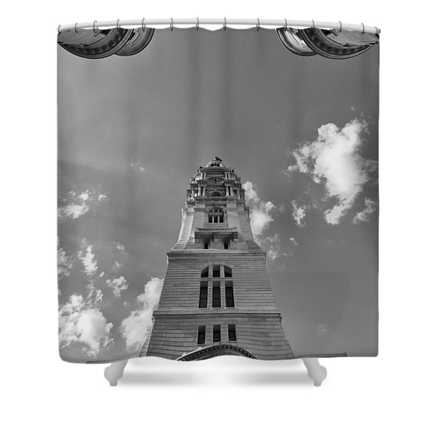 Three Points Of Justice Shower Curtain
