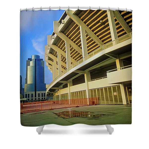 Three Rivers Stadium, Cincinnati, Oh Shower Curtain