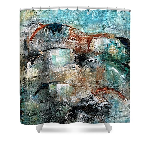 Three Running Horses Shower Curtain