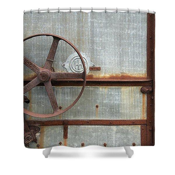 Thresher 4 Shower Curtain