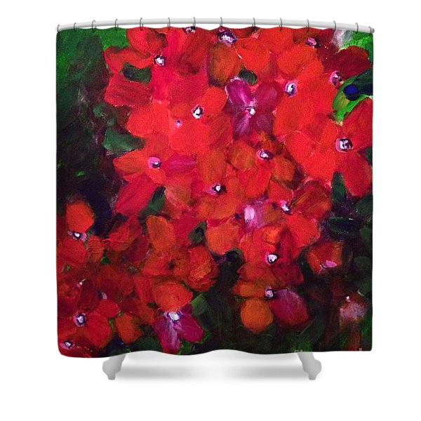 Thriving To Be Noticed Shower Curtain