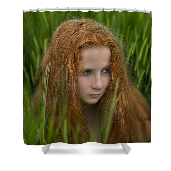 Through The Fear Shower Curtain
