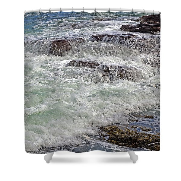 Thunder And Lace Shower Curtain