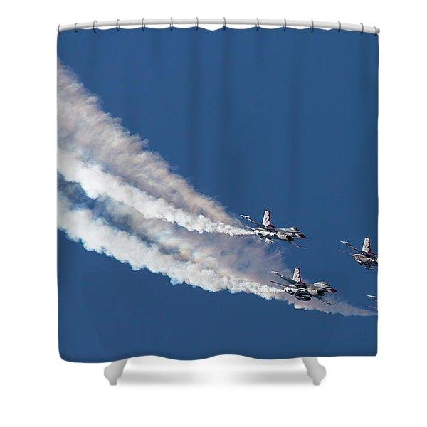 Thunderbird Loop Shower Curtain