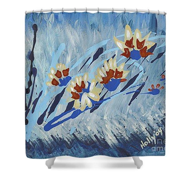 Thunderflowers Shower Curtain