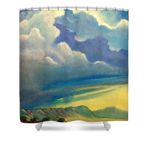 Thunderhead Shower Curtain