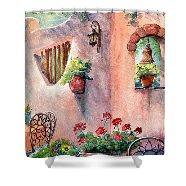 Tia Rosa's Shower Curtain