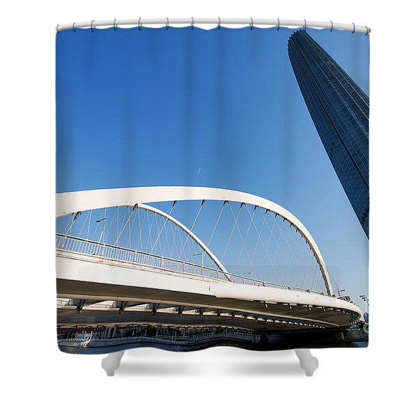 Tianjin City Shower Curtain