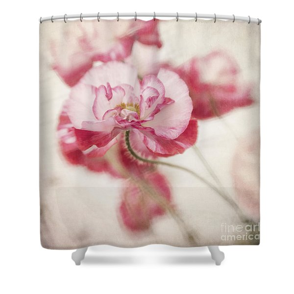 Tickle Me Pink Shower Curtain
