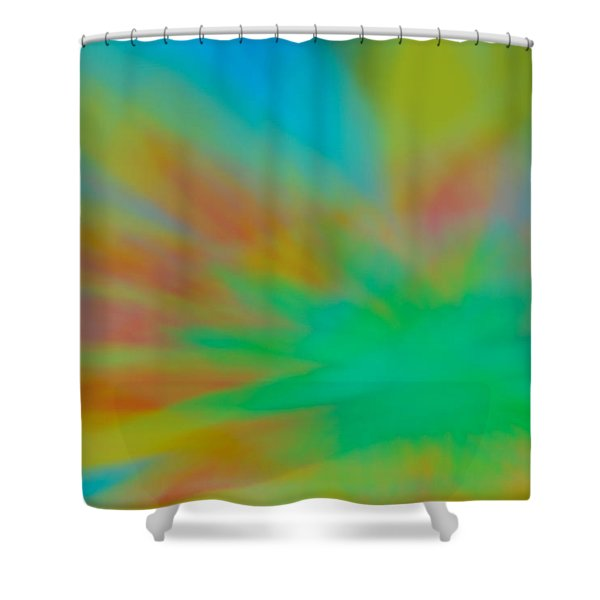 Tie Dye Abstract Shower Curtain