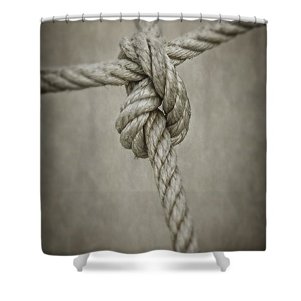 Tied Knot Shower Curtain