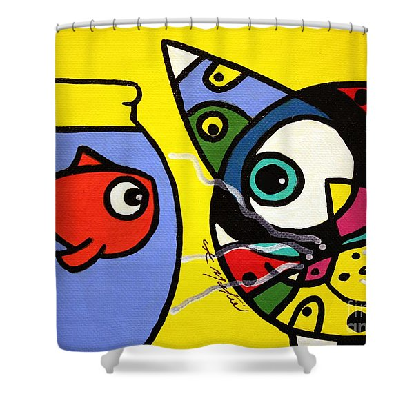 Tim And Dave Shower Curtain