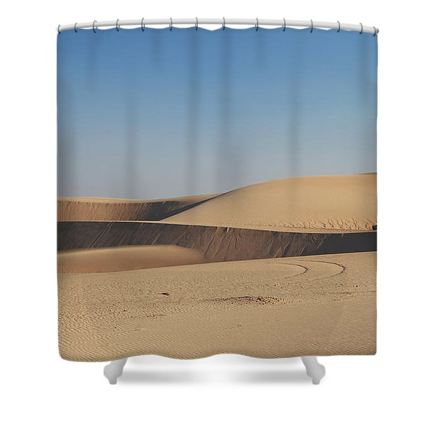 Time Changes Things Shower Curtain