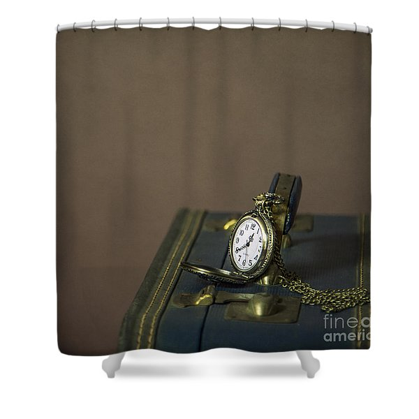 Time To Go... Shower Curtain