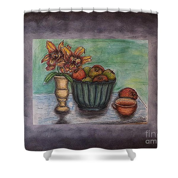 Time To Relax Shower Curtain