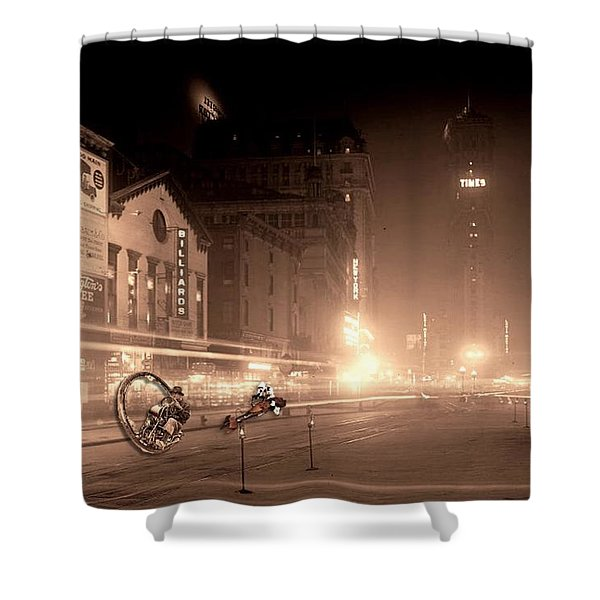 Timesquare 1911 Reloaded Shower Curtain