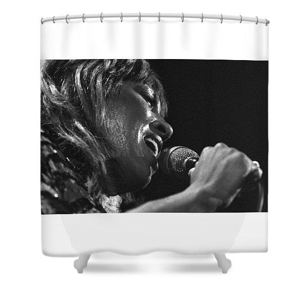Tina Turner 1 Shower Curtain