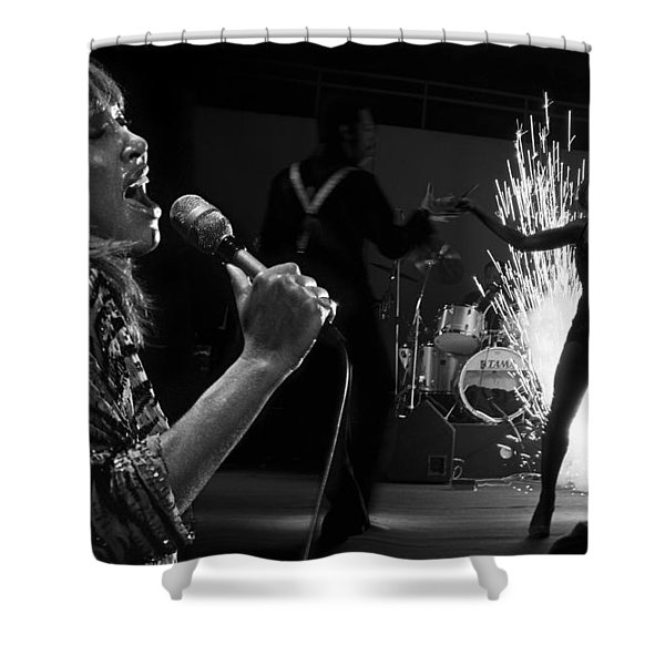 Tina Turner  Shower Curtain