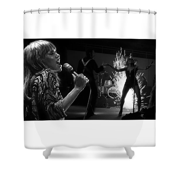 Tina Turner  Shower Curtain