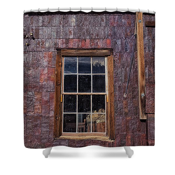 Tin Can Architecture At Bodie Shower Curtain