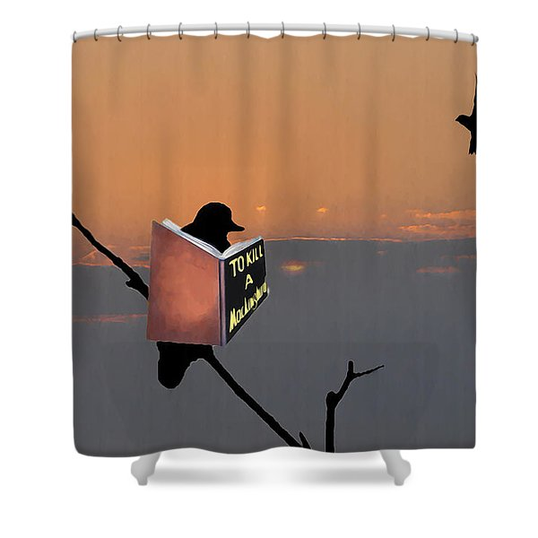 To Kill A Mockingbird Shower Curtain